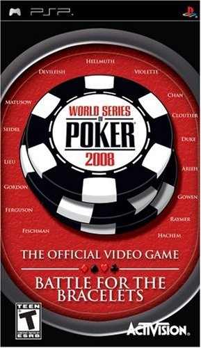 Скачать World Series of Poker 2008 PSP на psp торрент